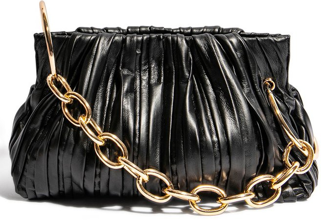 Chill Vegan Leather Frame Clutch