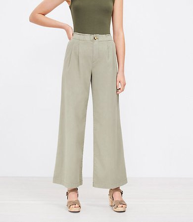 The Petite Pull On Wide Leg Pant