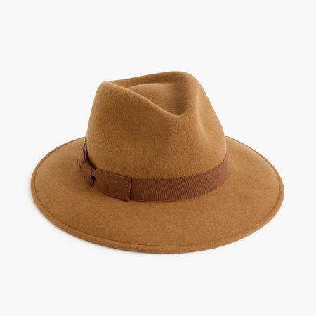 J.Crew: Western Hat With Grosgrain Trim For Women