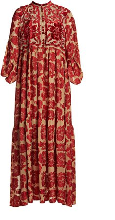 Biyan Imaniar Silk Maxi Dress