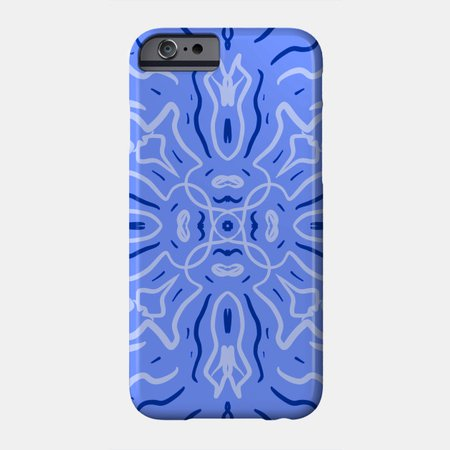 Blue light blue - Blue - Phone Case | TeePublic