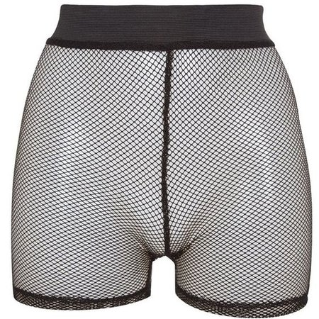 fishnet shorts
