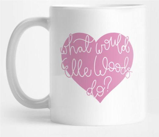 Elle woods mug