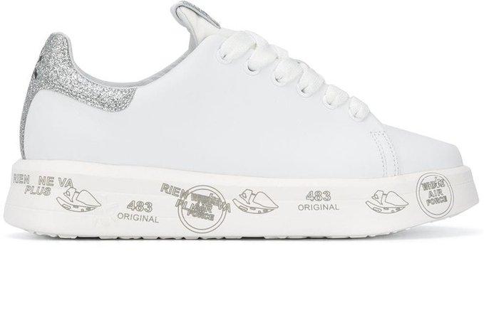 Belle glitter flatform sneakers