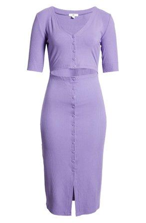 BP. Cutout Rib Dress | Nordstrom