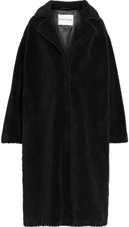 Maria Oversized Faux Shearling Coat