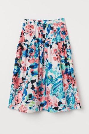 Patterned Skirt - Pink