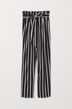 black and white striped pants - Google Search