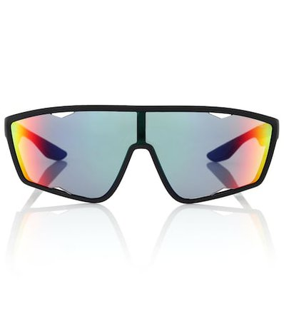 Linea Rossa wrap sunglasses