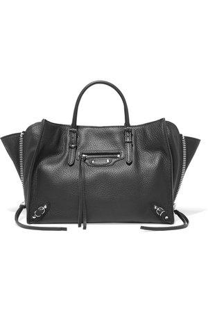 Balenciaga | Papier A6 small textured-leather tote | NET-A-PORTER.COM