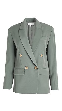 Vince Double Breasted Blazer | SHOPBOP