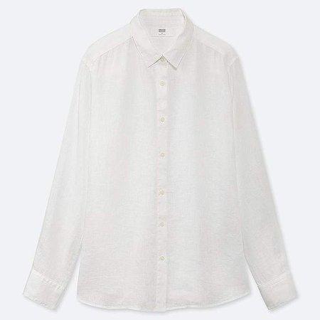 Women's Premium Linen Long-sleeve Shirt