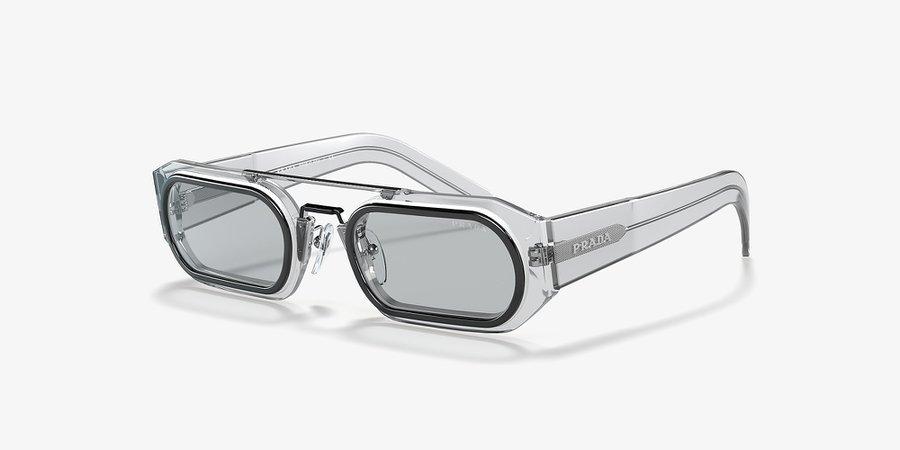 Prada PR 01WS 53 Grey-Black & Grey Sunglasses | Sunglass Hut USA