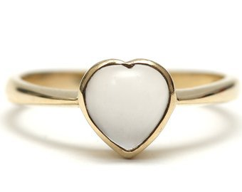 SOLD TO H10k Hand Holding Moonstone Ring   Etsy