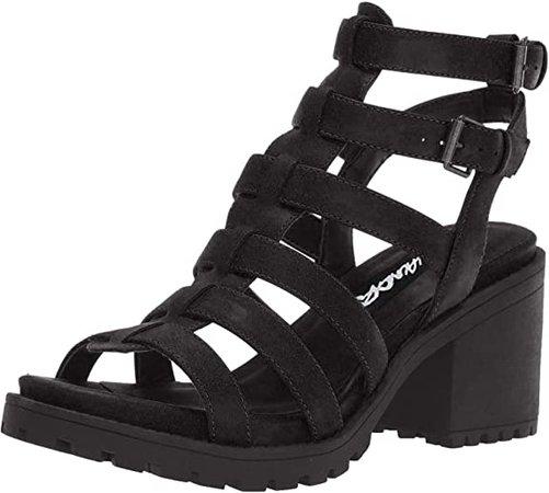 Amazon.com | Dirty Laundry by Chinese Laundry Women's Fun Stuff Heeled Sandal, Black, 10 M US | Heeled Sandals