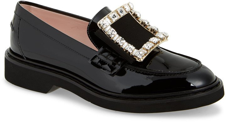 Viv Rangers Crystal Buckle Loafer