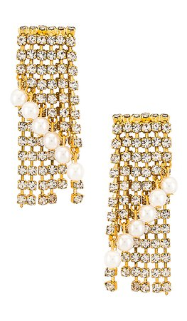 Elizabeth Cole Keisha Earrings in Gold | REVOLVE
