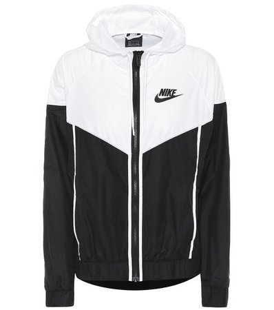 Nike - Hooded running jacket | Mytheresa