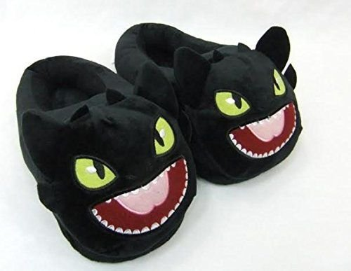 Toothless Train Your Dragon DreamWorks cotton slippers