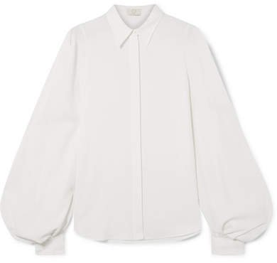 Crepe Shirt - White