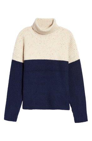 Treasure & Bond Oversize Colorblock Sweater | Nordstrom