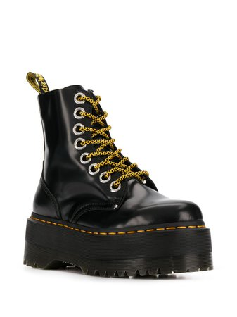 Dr. Martens Platform lace-up Boots - Farfetch