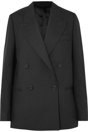 Acne Studios | Double-breasted wool blazer | NET-A-PORTER.COM