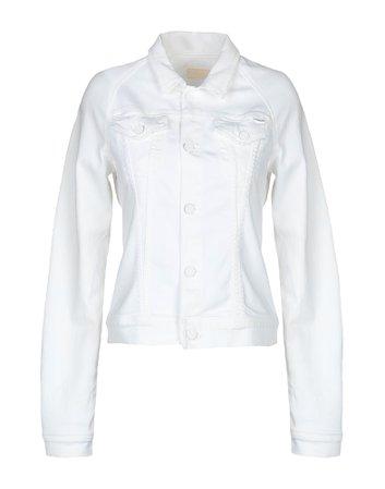 Mother Denim Jacket - Women Mother Denim Jackets online on YOOX United States - 42702622GI