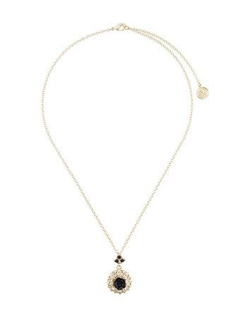 Dolce & Gabbana Floral Embellished Necklace - Farfetch