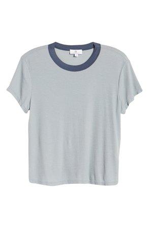 AG Del Rey Ribbed Ringer T-Shirt | Nordstrom