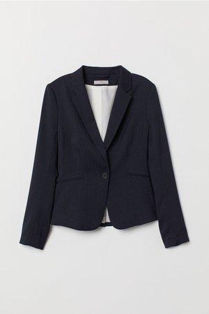 Saco entallado - Azul oscuro - Ladies | H&M MX