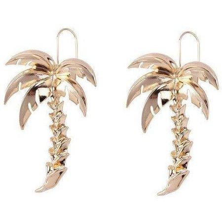 Large Palm Tree Drop Earrings - Own Saviour