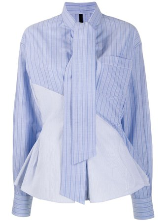 Unravel Project Tie Neck Shirt | Farfetch.com