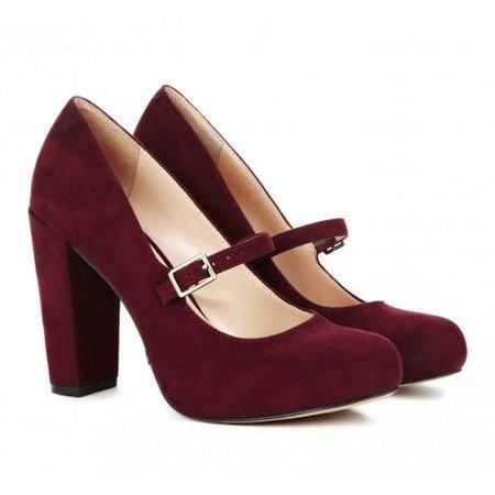 burgundy heels - Google Search
