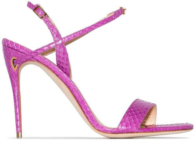 pink Tommaso 105 leather sandals