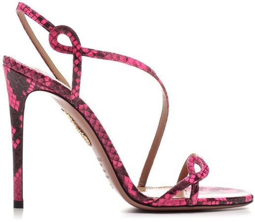 Curved Strap Detail Sandals