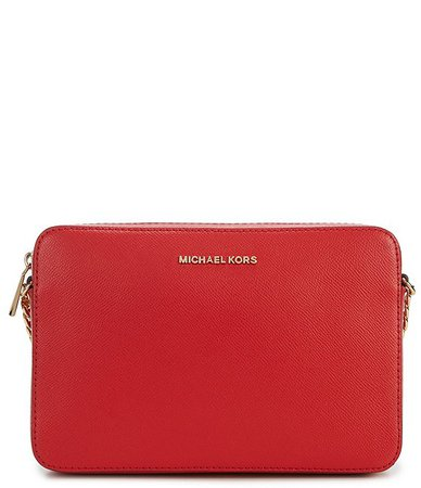 MICHAEL Michael Kors Jet Set Travel Large East/West Chain Strap Crossbody Bag | Dillard's