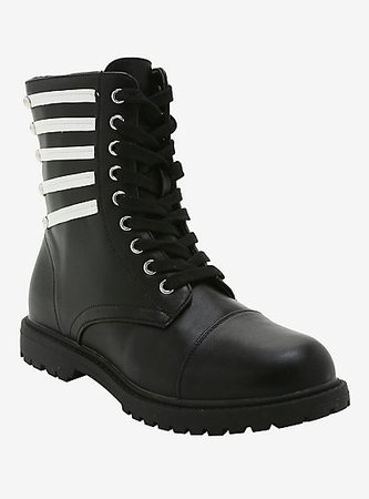 My Chemical Romance The Black Parade Cosplay Combat Boots