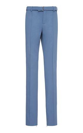 Bottega Veneta Gabardine Straight-Leg Pants
