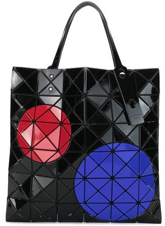 Lucent geometric tote bag
