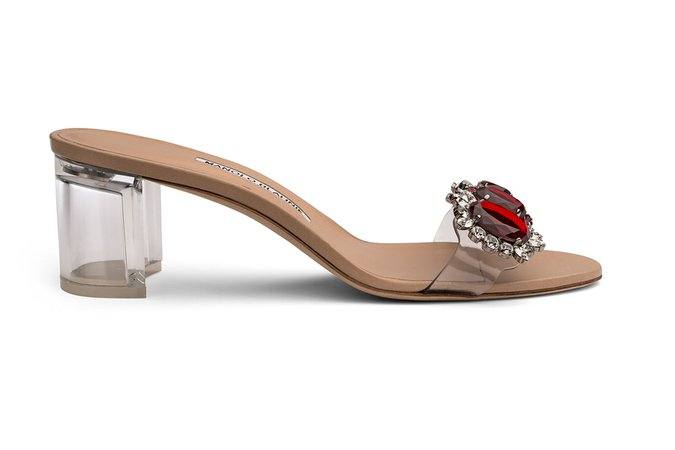 Rihanna and Manolo Blahnik's Final Collection Is Filled With Jewels – Footwear News