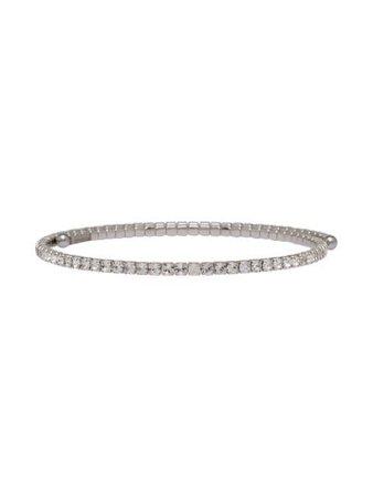 Miu Miu Crystal Choker 5JC3522EFK Silver | Farfetch