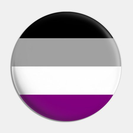 asexual pride pin