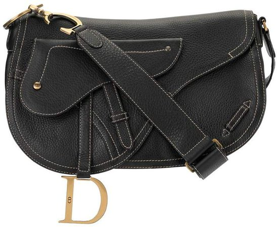 Pre-Owned Saddle crossbody bag