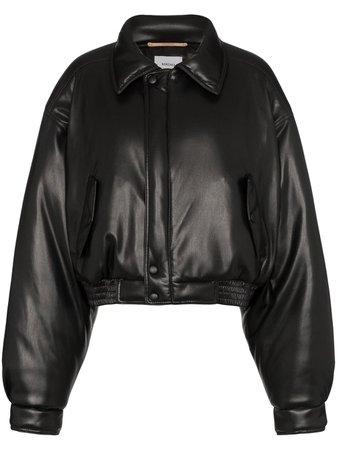 Nanushka Короткая Куртка-Бомбер - Купить В Интернет Магазине В Москве | Цены, Фото.
