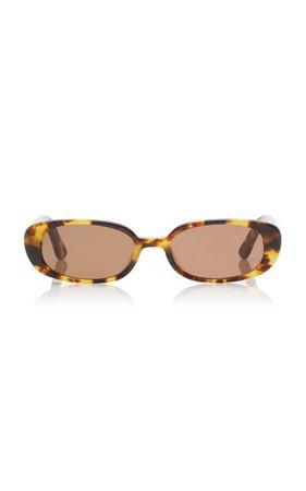 Zou Bison Tortoiseshell Acetate Sunglasses By Velvet Canyon | Moda Operandi