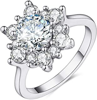 silver snowflake ring - Google Search