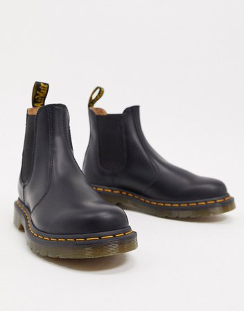 Dr Martens 2976 chelsea ankle boots in black | ASOS