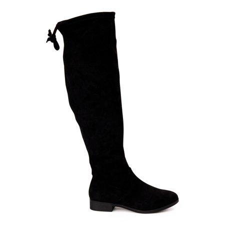 Time and Tru - Time and Tru Women's Over-the-Knee Boots - Walmart.com - Walmart.com