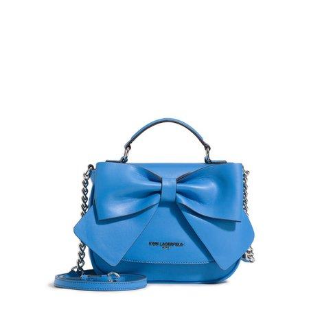 KRIS FARA BOW FLAP CROSSBODY-Handbags-Sale-Karl Lagerfeld Paris - Karl Lagerfeld Paris